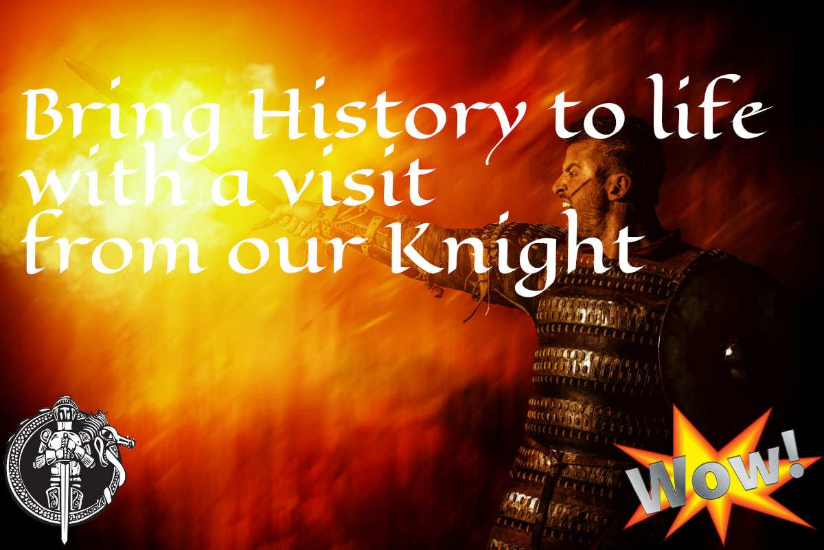 Invite a Knight slider